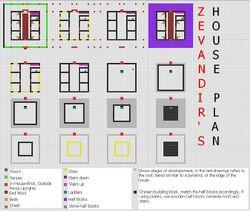Zevandir's House Plan