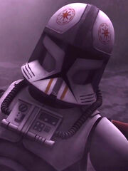Wounded clone pilot