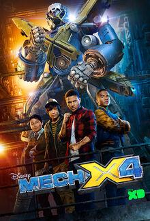Mech-X4 - Season1 - Poster