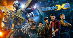 MECH-X4 Hero Banner