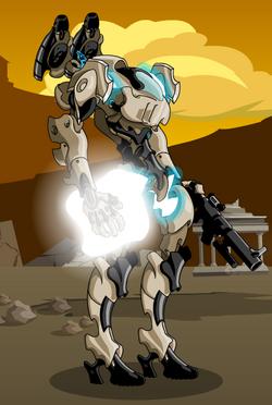 Drakel War Armor V1