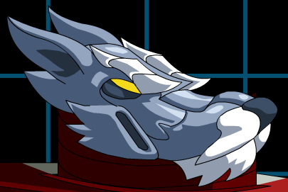File:Blue Wolf Head.png