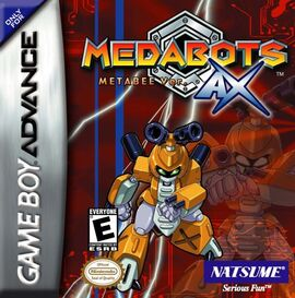 Medabots AX Metabee box