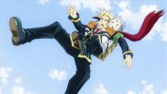 Yukuhashi restrains Zenkichi
