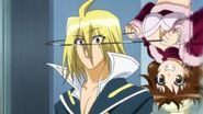 Koga prepares to choke Akune