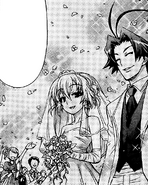 Kajiki and Hato's wedding