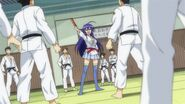 Medaka challenges the Judo Club