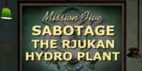 Sabotage the Rjukan Hydro Plant