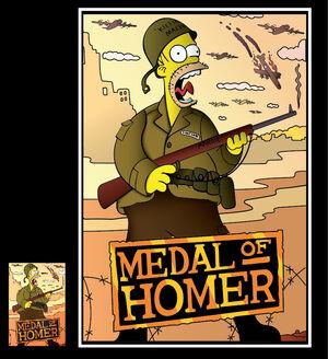 Medal of homer by fabiokappa-d4ols4t
