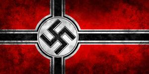 Nazi war flag