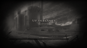 Up in Flames Loading Screen