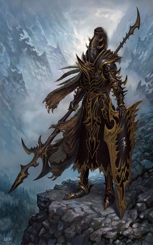 Dark elf black guard armor t7 by jonathankirtz-d31ok5m