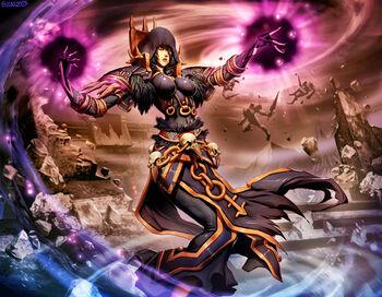 Warcraft nethermaven donna by genzoman-d3bbuck
