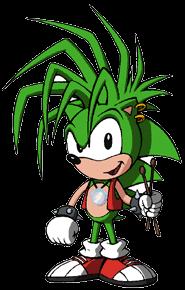 Manic Rose the Hedgehog