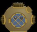 Antique Diver Helmet