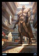 Metroman statue Sullivan