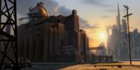 Megamind's lair