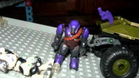 Halo Mega Bloks Covenant Outpost