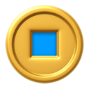 File:Coin-blue.png