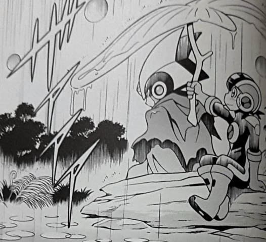 File:Forte and Rockman in the rain.png