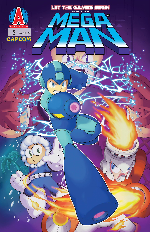 Mega man issue 3 archie comics mmkb fandom powered - Megaman wikia ...