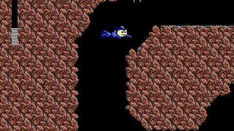 Mega Man 3 PC DOS Stage 6 - Shark Man