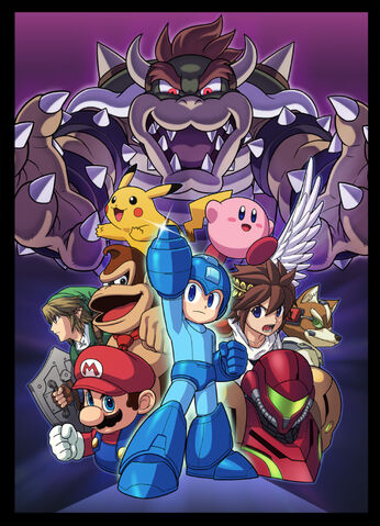 File:Smash Bros with MegaMan.jpg