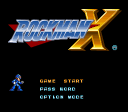 File:Rockman X Title Screen.png