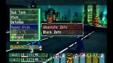 Megaman X Command Mission Colonel Redips