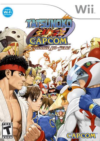 File:Tatsunoko vs. Capcom cover.jpg