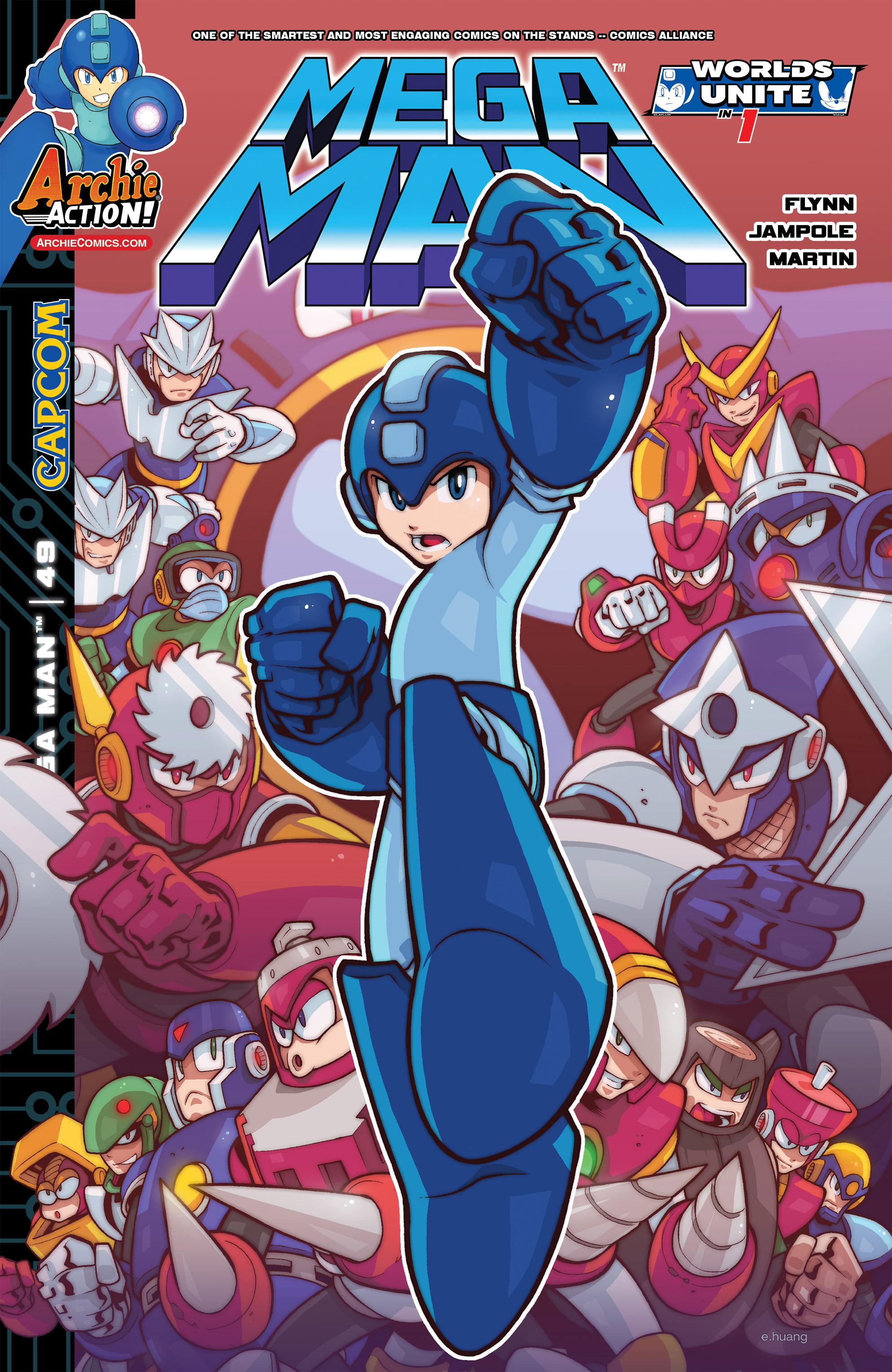 Mega Man Issue 49 Archie Comics Mmkb Fandom Powered