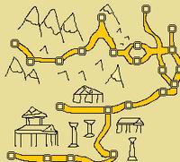 Sarmisegetusa map