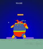 MashtheRobotClownByDBoy