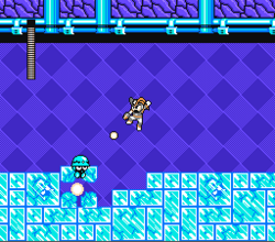 MegaMan Revolution Game Cyro Man Stage 2