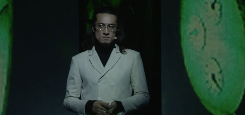 File:Ikutsuki appear at the end of the stageplay of P3WM2.png