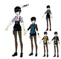 P4D Official Visual Visual Book Original Stage Costume for Naoto, 02.jpg