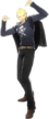 P4D Kanji Tatsumi winter school uniform change