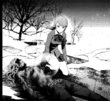 P3 manga Takaya's burnt body after being burn alive by Trismegistus