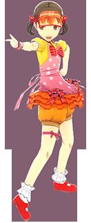 File:P4D Nanako Doijima default outfit change.PNG