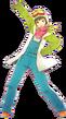 P4D Chie Satonaka snow suit DLC outfit change