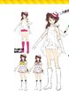 P4D Official Visual Visual Book Original Stage Costume for Rise, 02