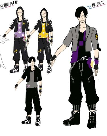 File:P4D Official Visual Visual Book Original Stage Costume for Kanji, 02.jpg