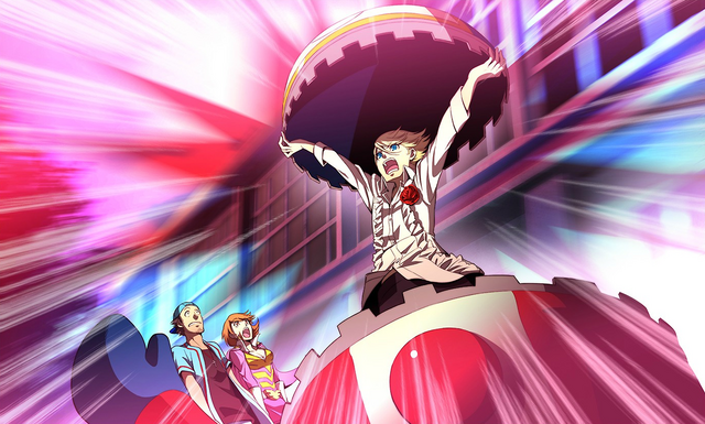 File:P4AU (P3 Mode, Teddie reveal his human form to Junpei and Yukari).png