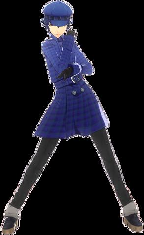 File:P4D Naoto Shirogane School Uniform Midwinter change free DLC.png