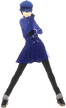 P4D Naoto Shirogane School Uniform Midwinter change free DLC