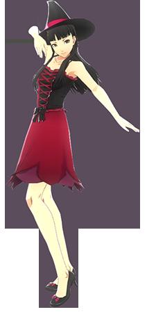 File:P4D Yukiko Amagi halloween outfit change.png