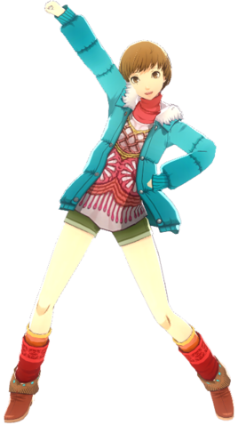 File:P4D Chie Satonaka Midwinter Outfit change free DLC.png