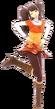P4D Rise Kujikawa winter outfit change