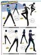 P4D Naoto's Costume Coordinate 01