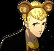 P5 portrait of Ryuji with bear ears